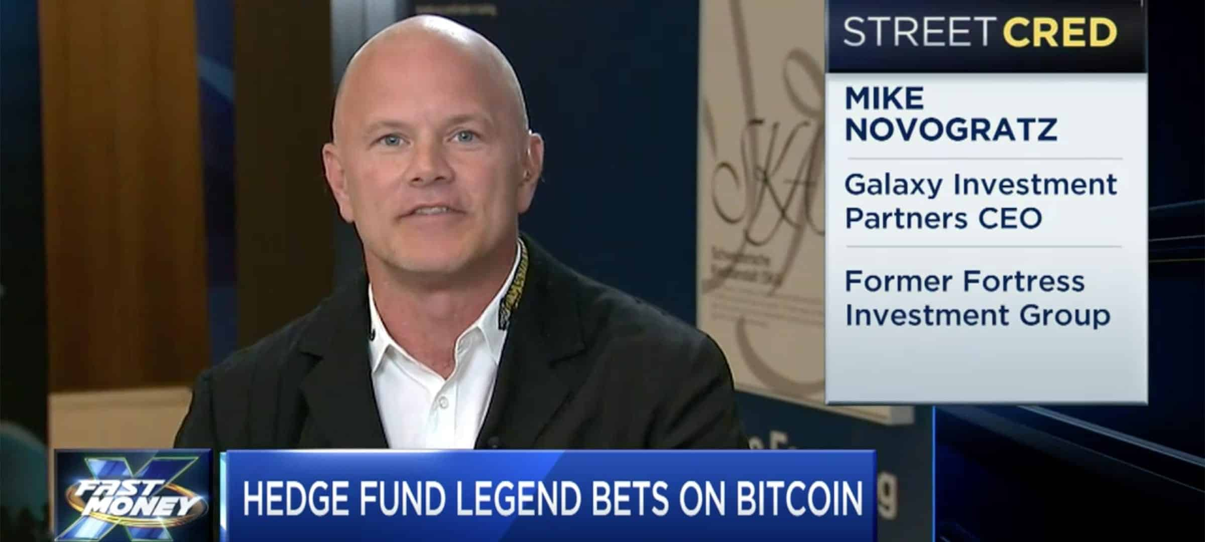 Mike Novogratz - Bitcoin $10,000 - CNBC