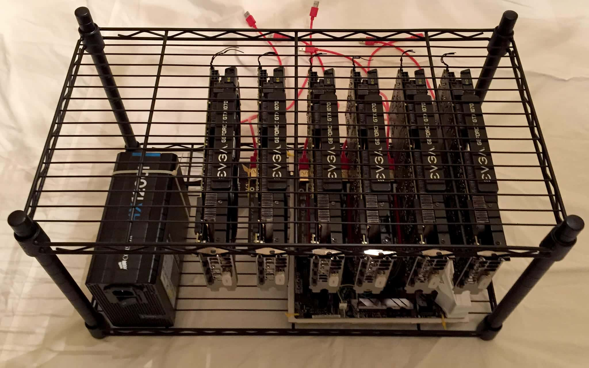 How to Build a 6 GPU Mining Rig - Part 1: Hardware [2019] • GPU0