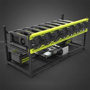 Stackable GPU Mining Rig Frame