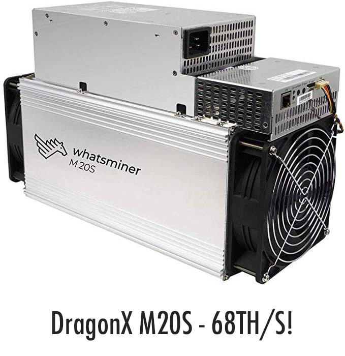 68TH/S BTC ASIC Miner