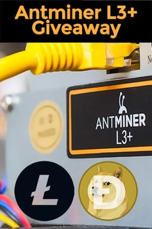 Antminer L3+ Giveaway